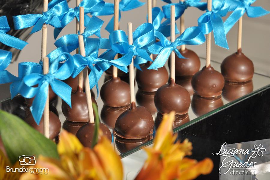 Pirulitos de Chocolate